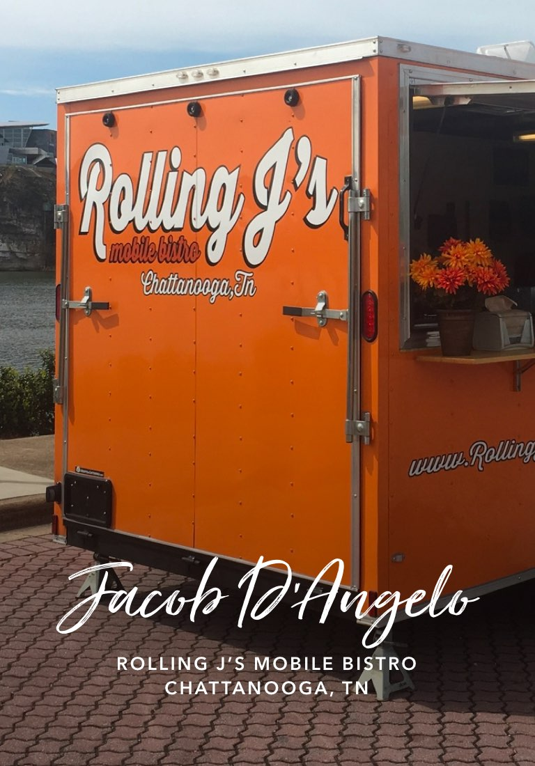 Jacob D'Angelo, Rolling J's Mobile Bistro