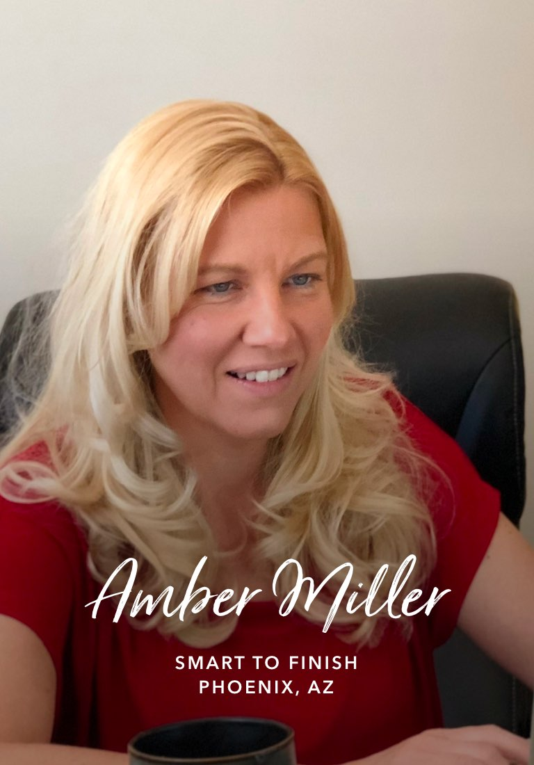 Amber Miller, Smart to Finish - Watch the story
