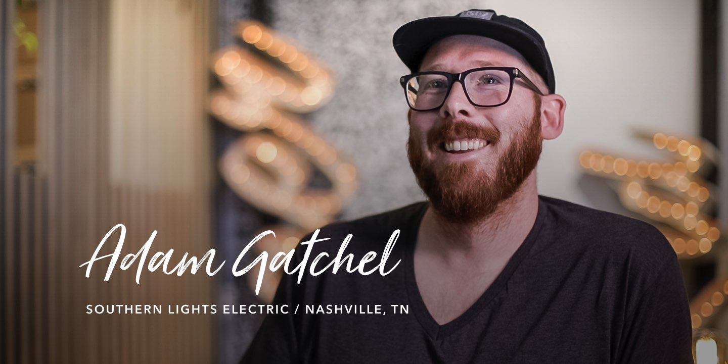 Adam Gatchel, Southern Lights Electric - Watch the story