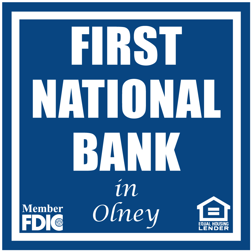 First National Bank of Olney logo