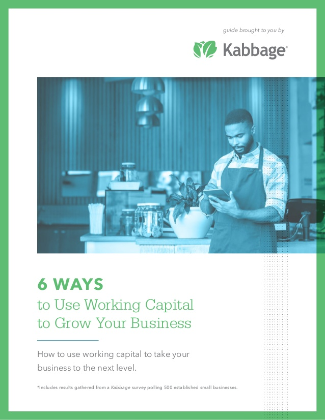 Using working capital to grow your business