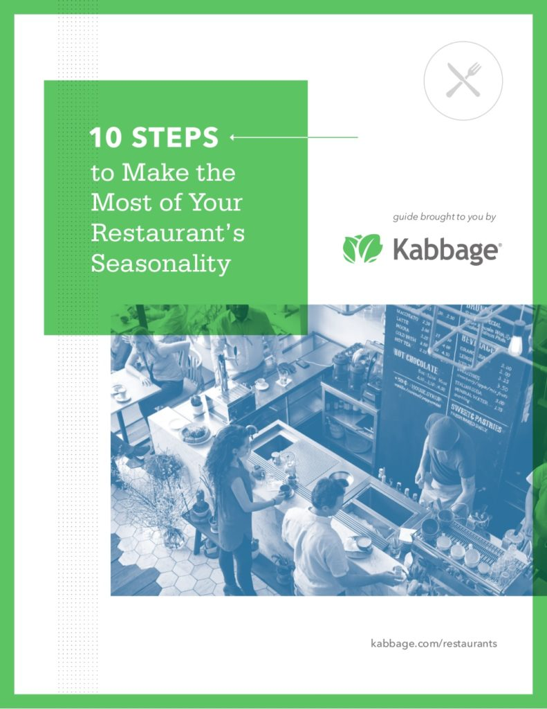 Make the most of your restaurant's seasonality