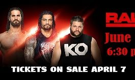 Monday Night RAW Returns to Cajundome