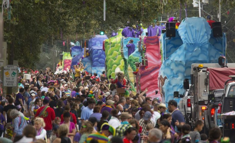 Mardi Gras math: UL Lafayette researchers tally parade crowd size