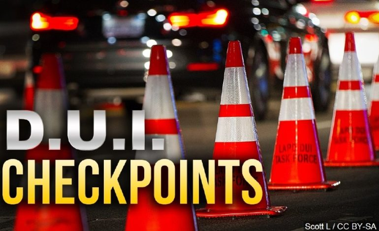 Sobriety Checkpoint Scheduled for Calcasieu Parish