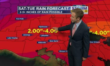 Increasing Rain Chances. 2-4 Inches of Rain Possible. Details: