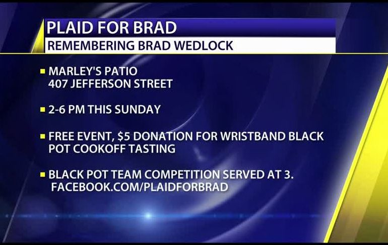 Plaid for Brad Fundraiser to Benefit Two UL Scholarships