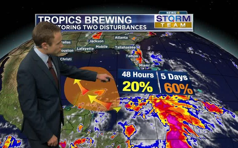 Two Tropical Systems Brewing?