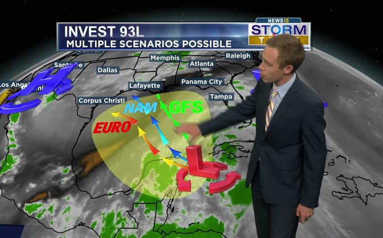 Two tropical storms developing?
