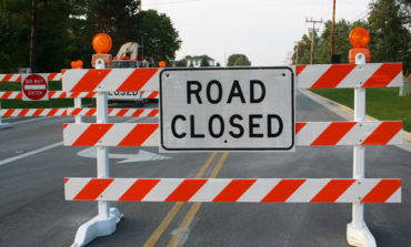 LA 91 at the Estherwood Pontoon Bridge, Acadia Parish, Bridge Closure