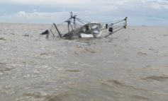 Man and two boys rescued from sinking shrimp vessel in Vermilion Bay