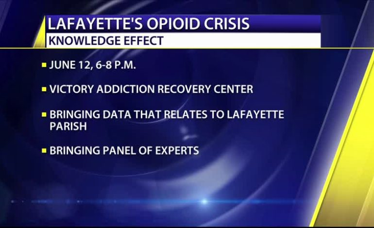 Wednesday, Join the Opioid Discussion