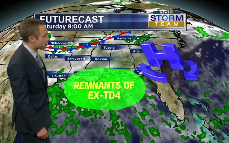 Hit/Miss Thunderstorms Tomorrow. Stormy Weekend Forecast!
