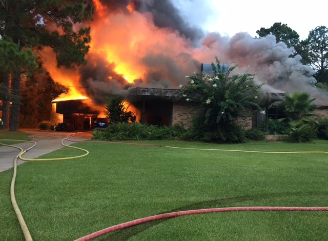Sunset Home Is A Total Loss After Fire