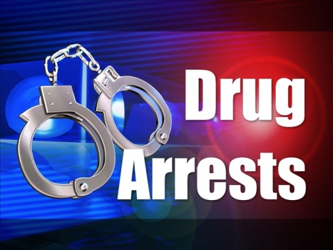 Drug arrest made on Hilda St.