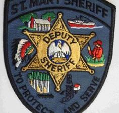 St. Mary Parish Sheriff's Office arrest report
