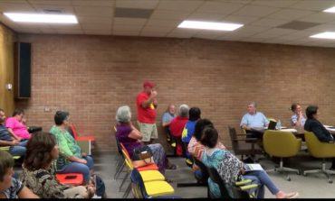 Vermilion Parish School Board Members all in the same room for committee meeting