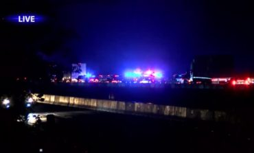 Man killed, I-10 Westbound closed after vehicle pursuit