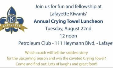 Lafayette Kiwanis Club Gearing up for Jamboree and Crying Towel Lunch