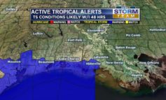 HARVEY UPDATE: Tropical storm watch raised to warning for Vermilion, Cameron