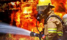 City of Scott Officials spend the evening as firefighters