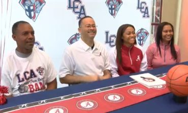 LCA's Megan Abrams Signs NLI with the University of Alabama