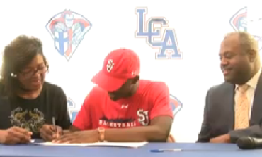 LCA Hoopster Greg Williams Jr. Signs NLI With St. John's