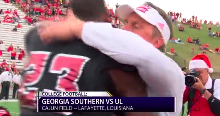 Georgia Southern Spoils UL's Senior Day, 34 - 24