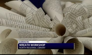 North Regional Library Wreath Workshop