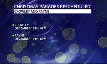 Crowley,Rayne parade changes announced