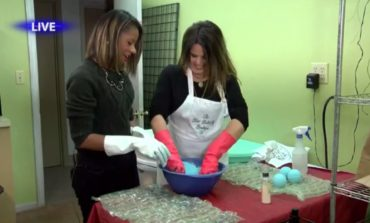 The Blue Butterfly Boutique in New Iberia shows how to make bath bombs