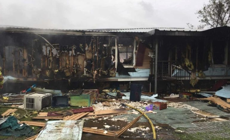 Arnaudville Road home completely destroyed by morning fire