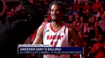 UL Men's Basketball: JaKeenan Gant is balling!