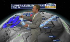 Series of Cold Fronts! One arrives tomorrow!