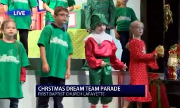 First Baptist Church Lafayette hosts Christmas production, helps local toy drive