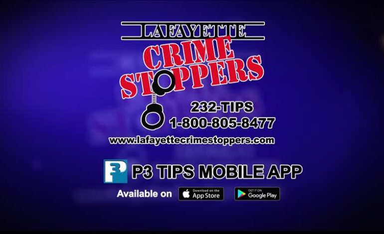 Lafayette Crime Stoppers 12/15/2017