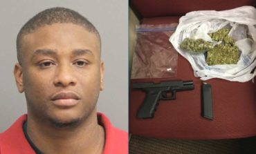 Crowley PD search warrant leads to seizure of drugs and weapon