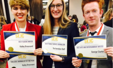 UL Lafayette students collect 12 journalism awards