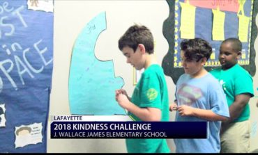 J. Wallace James Elementary Participates In 2018 Kindness Challenge