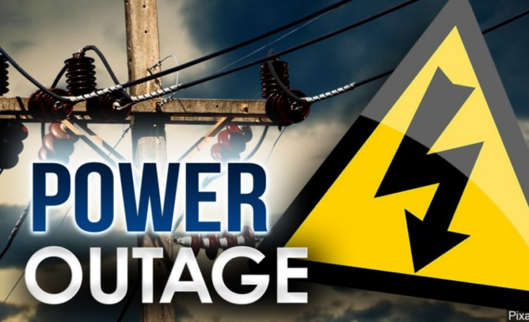 Planned power outage for Town of Erath