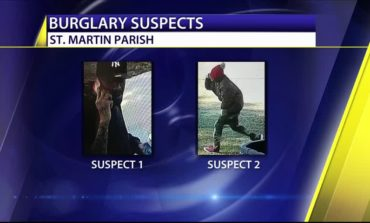 Help St. Martin Parish Sheriff's Office Identify Two Burglary Suspects