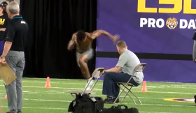RECORDS FALL AS LSU HOSTS ANNUAL PRO DAY
