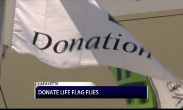 Donate Life Flag Raising