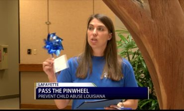 Pass The Pinwheel to Prevent Child Abuse