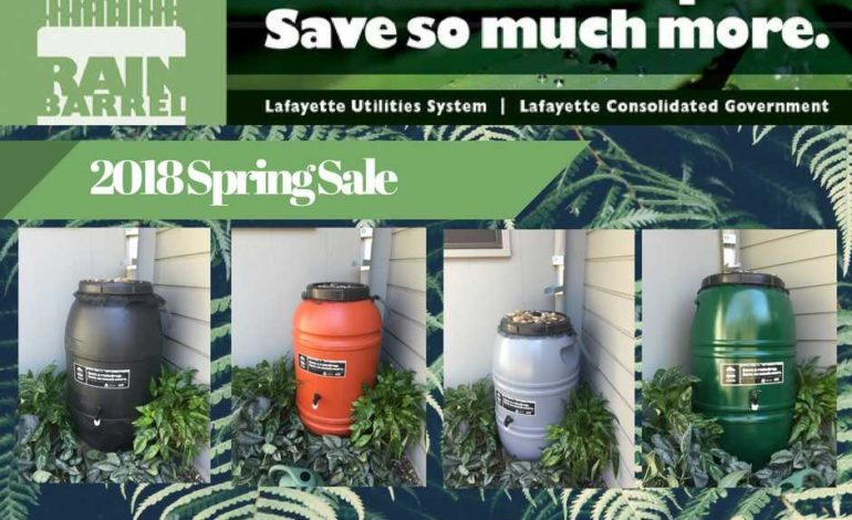 Last chance to purchase rain barrel
