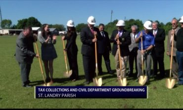 Tax Collections and Civil Department Groundbreaking