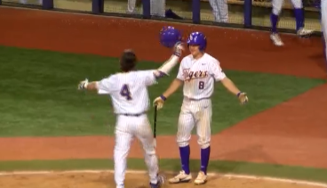 LSU Baseball: A.J. Labas Powers LSU Past Lamar, 8-0.