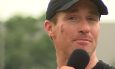 Drew Brees Leads Youth Flag Football Camp