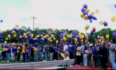 SMSH Students Honor Fallen Classmates With Balloon Lifting Ceremony