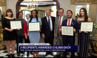 $10,000 Scholarships Awarded to Lafayette Students Through Pay It Foward Program